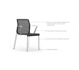 Curvinna Guest Chair